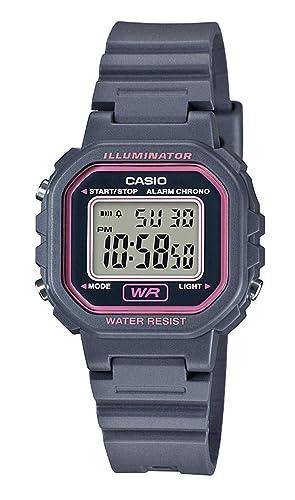Casio Reloj Digital para Mujer de Cuarzo con Correa en Resina LA-20WH-8AEF: Amazon.es: Relojes