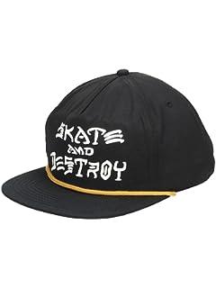 Thrasher Skate and Destroy Puff Ink Snapback Hat