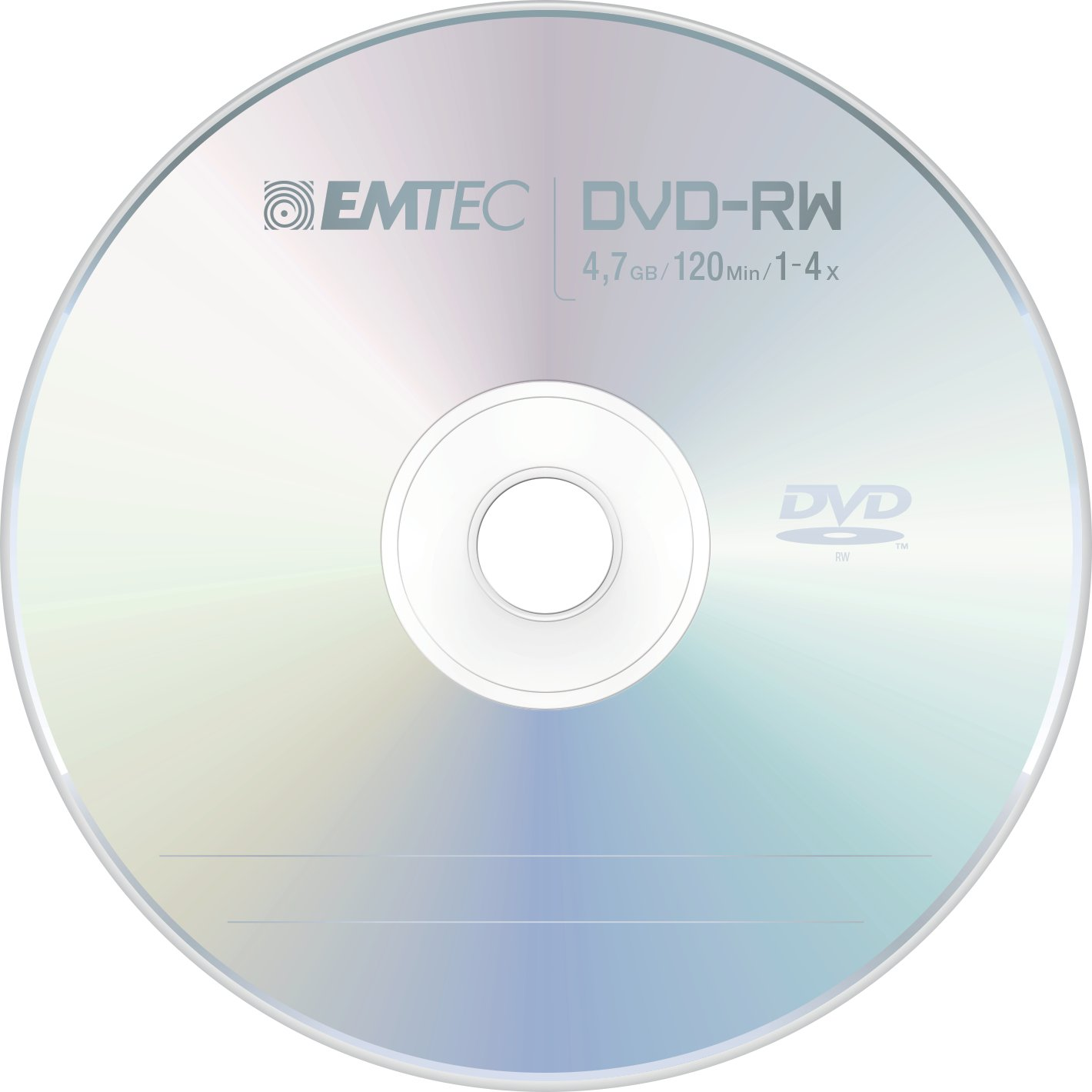 Emtec disc DVD-RW [ cakebox 10 | 4.7GB | 4x ]