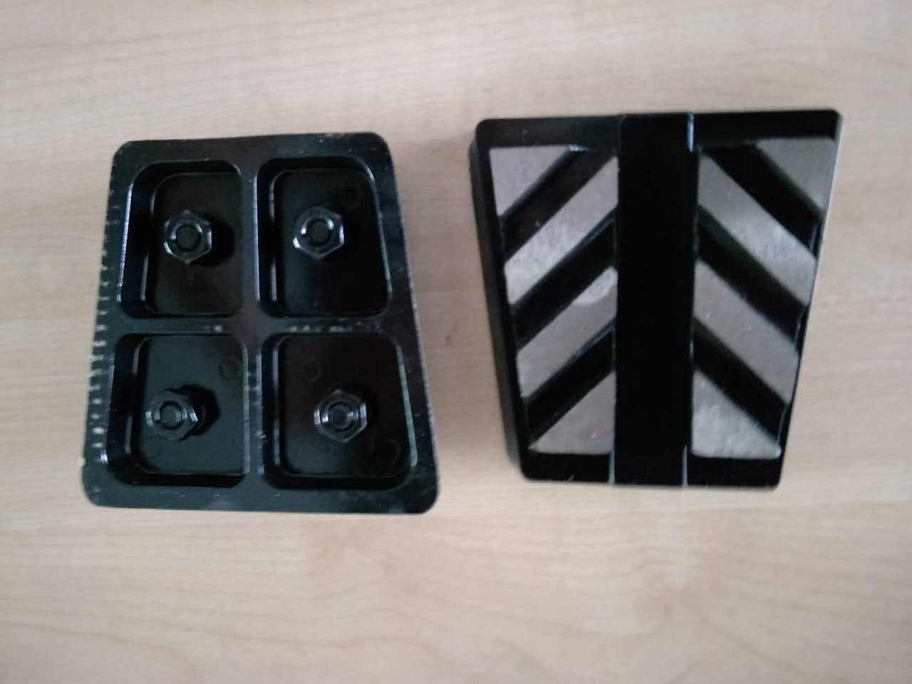 12 pieces 320# Frankfurt abrasive shoe diamond grinding wegde blocks for concrete terrazzo