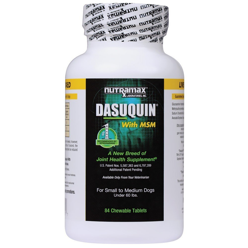 Nutramax Dasuquin with MSM Chewables Small/MEDIUM Dog 84 Count