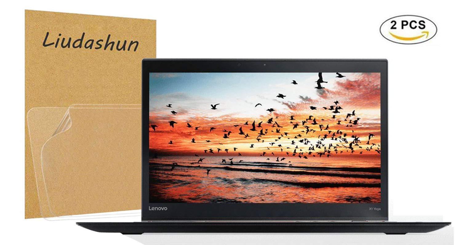 Lenovo Thinkpad X1 Yoga 1st Gen & 2nd Gen & 3rd Gen Screen Protector,HD Clear LCD Anti-Scratch Anti-Fingerprints Guard Film For 14''Thinkpad X1 Yoga 1st Gen & 2nd Gen & 3rd Gen Laptop(2-pack)