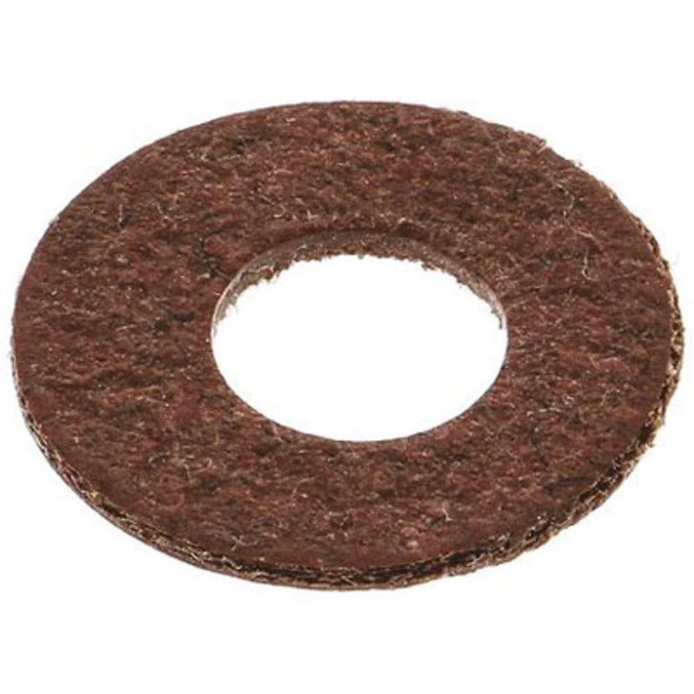 M3 Plain Vulcanised Fibre Sealing Washer; 0.5mm Thickness, Pack of 5
