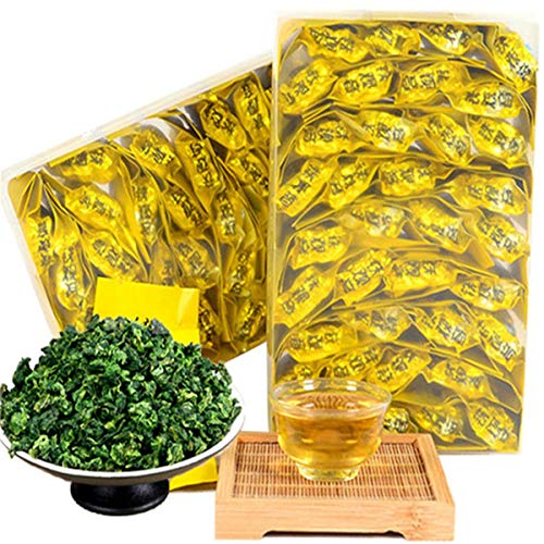 250g (0.55LB) Top Grade Boxed Chinese Oolong Tea TiKuanYin Green Tea Anxi Tie Guan Yin Fresh China Tieguanyin Tea Tea Slimming Tea Green Food