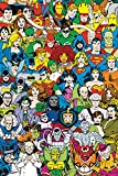 DC Comics - Retro Cast Poster 24 x 36in