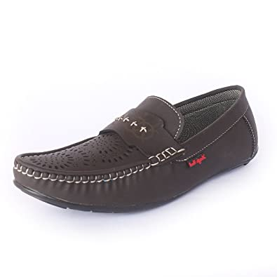 88db5f13f0 Magic Hunt Mens Brown Synthetic Casual Loafer Shoe  Buy Online at Low  Prices in India - Amazon.in