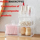 Sooyee 9 Compartments Clear Acrylic Small Lipstick