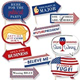 Funny Presidential Inauguration Day - Photo Booth Props Kit - 10 Count