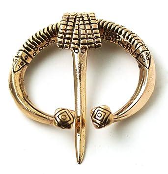 Bronze Irish Viking Penannular Brooch, Clothes Fasteners   Cloak Pin, Shawl  Pin, Scarf