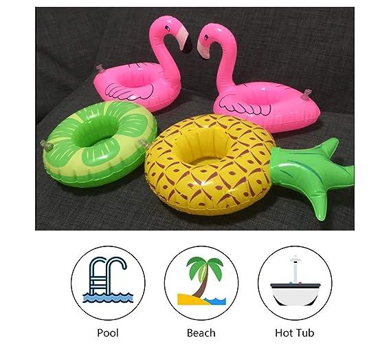 Amazon.com: Yuccer - Soporte para vasos hinchables, 12 ...