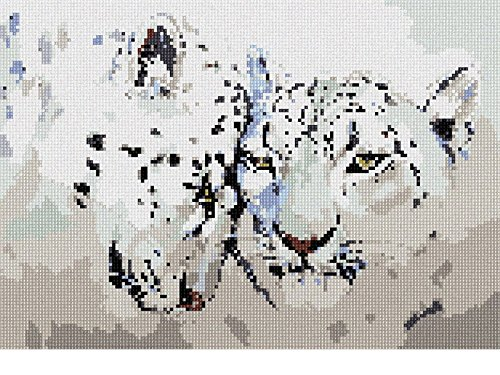 Leopards Painting Needlepoint Canvas