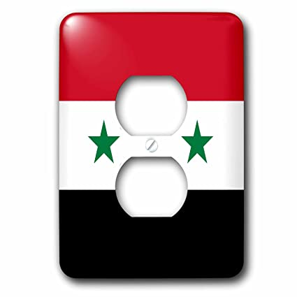 3drose Lsp 158443 6 Flag Of Syria Syrian Red White Black With Two