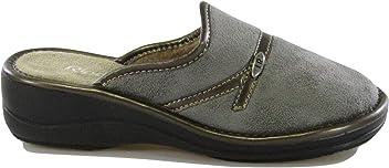 Riposella Pantofole Ciabatte Donna Invernali 4618 Grigie bde15451880