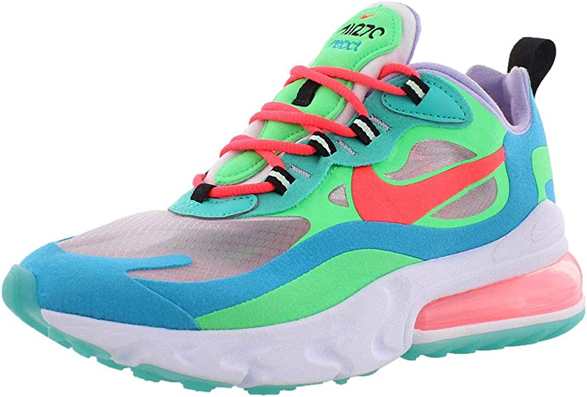 Nike Air Max 270 React Mujeres Entrenadores Corriendo At6174 Zapatillas  Zapatos
