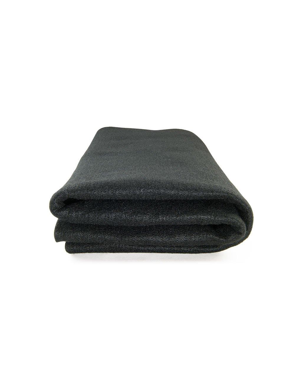 High Temp Felt Welding Blanket: 6' X 4', Black