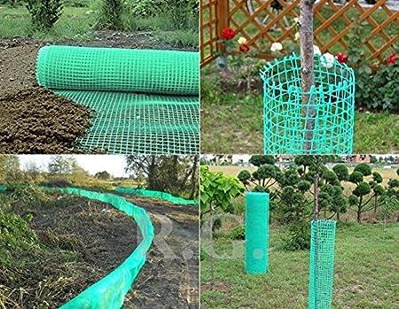 30 Meter Gartennetz Maschengewebe Kunststoffzaun Beetschutz Schutznetz Baumnetz H/öhe 80cm