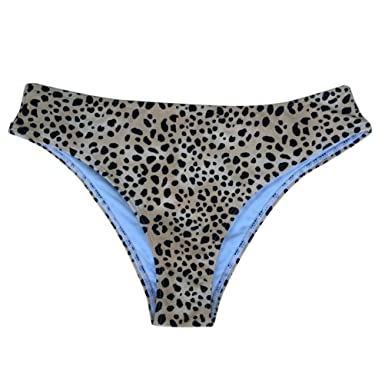 0376782568dc Amazon.com: Lorembelle Women's Floral Print Bikini Bottom Trunks ...