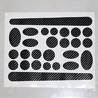 carbon fibre pattern sticker for bike frame protector chainstay cable rim tube hub bicycle safety