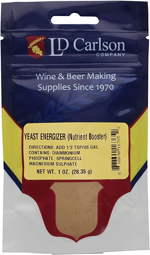 Mead Best Yeast Energizer for Home Brew for Wine 1 Oz Beer