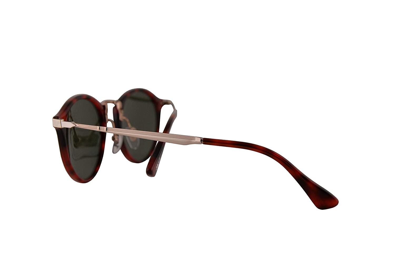 Persol 3166-S Calligrapher Edition Sunglasses Red Grid w//Green Lens 51mm 110031 PO 3166S PO3166S PO3166-S