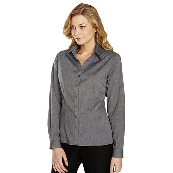 Simon Jersey - Camisas - con botones - para mujer gris gris 42