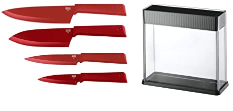 Amazon.com: Kuhn Rikon Cuchillos Color Plus Chefs, Santoku ...
