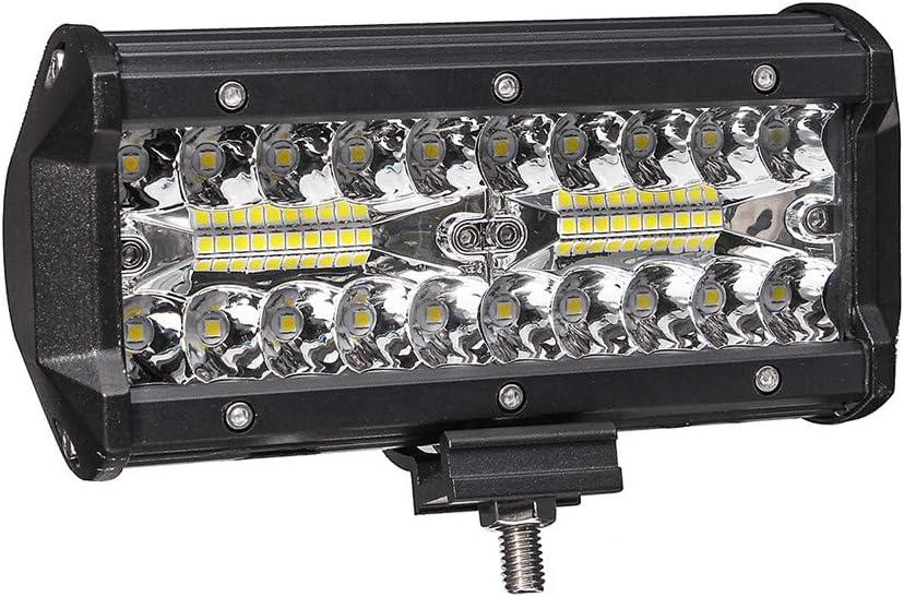 Feu de Brouillard Barre Lumi/ère 6000K Projecteur LED Feux Voiture Phare de Travail LED Etanche IP67 TriLance 2019 Nouveau Barre de Lumi/ère de Voiture LED 400W SUV Ultra Puissant 16000LM