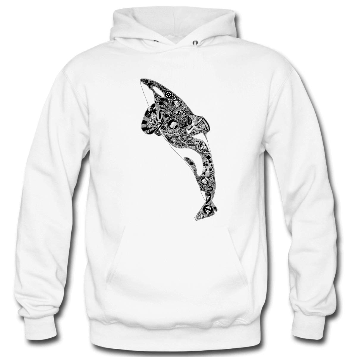 Mens Captivity Kills Hooded Sweatshirt Funny Printed Pullover Hoodies Classic Long Sleeve T Shirt Tops