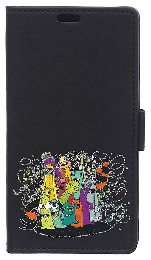BeCool Funda Libro para Motorola Moto E4 Plus- Carcasa con función Soporte, Ranuras para tarjetes y Billetes, Diseño Amor de la Familia