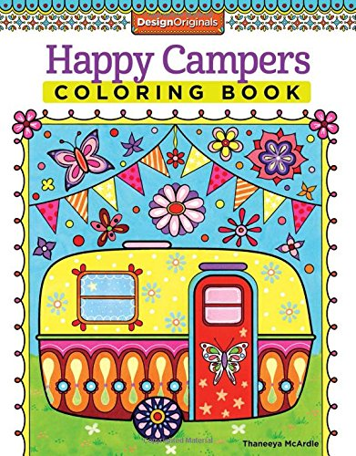 Happy Campers Coloring Book made our list of gift ideas rv owners will be crazy about make perfect rv gift ideas