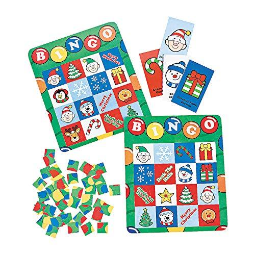 Fun Express - Holiday Bingo Games for Christmas - Toys - Games - Carnival & Bingo - Christmas - 1 -