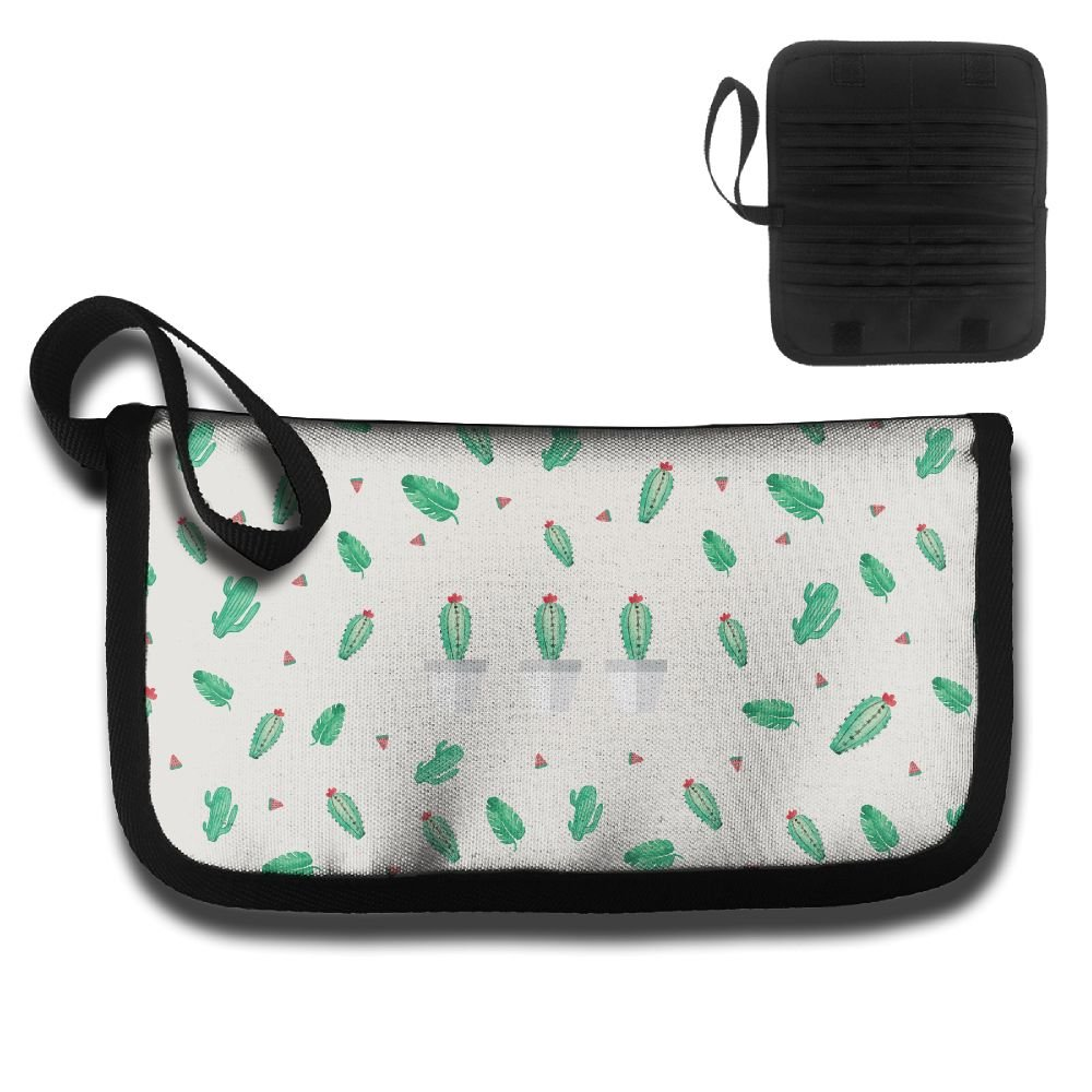 Gili Banana Leaf And Cactus Travel Passport /& Document Organizer Zipper Case
