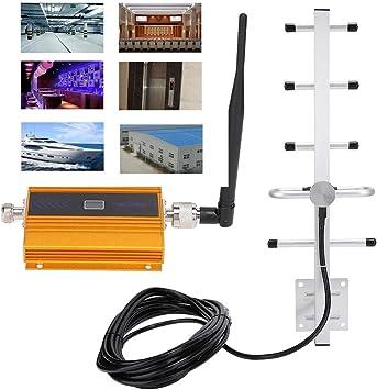 Amplificador de señal de teléfono celular, GSM 900MHz Amplificador de señal de teléfono móvil 3G 4G Amplificador repetidor, Extensor de techo ...