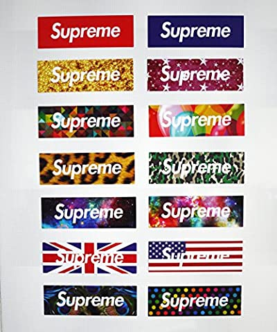 Supreme Car Stickers Vehicle Sports Skateboard Laptop Luggage Sticker Decals A5 Code40 (Country Lyrics Sticker)