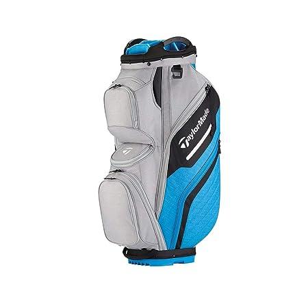 a99dbb5b17 TaylorMade Supreme 2018 Cart Bag (Gray/Blue) (Gray/Blue), Cart Bags ...