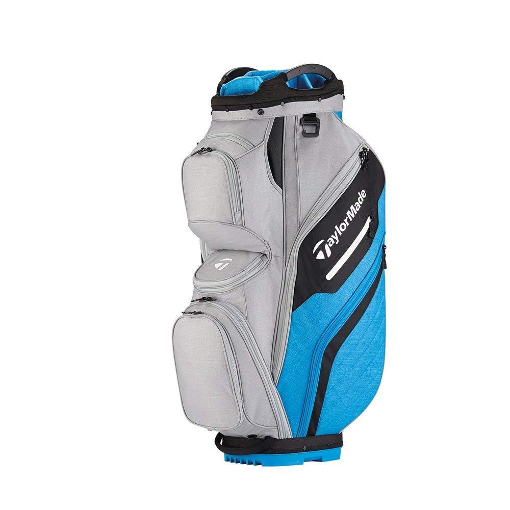 TaylorMade Supreme 2018 Cart Bag (Gray/Blue) (Gray/Blue)