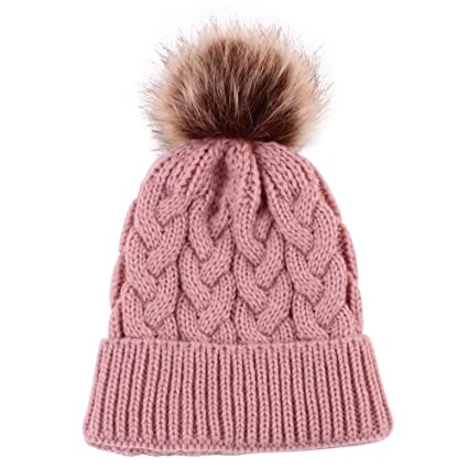 96aff83a847 Amazon.com  SUKEQ Baby Winter Hat
