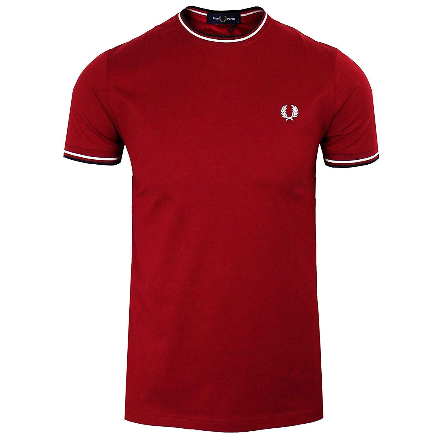 Fred Perry Fp Twin Tipped Camiseta para Hombre: Amazon.es: Ropa y ...
