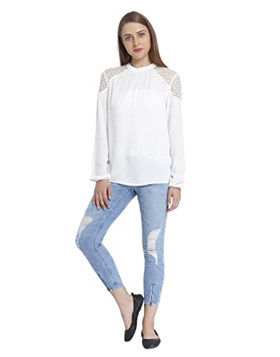 Only Mujeres Ropa Superior/Blusa/Túnica onlSonny Lace Bishop