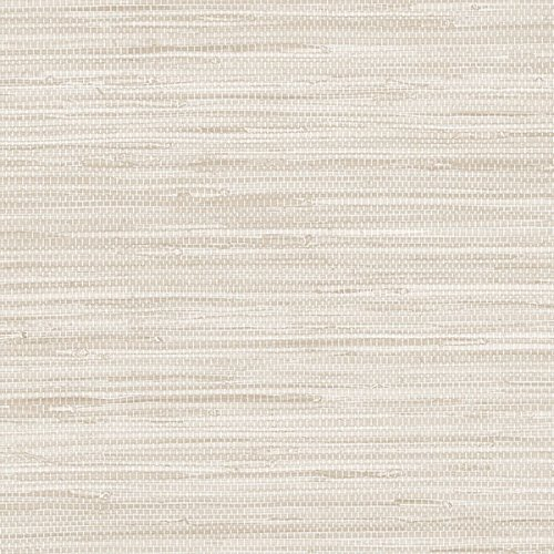 Beige Faux Grasscloth Wallcovering PA34208 Beige Faux Wallpaper