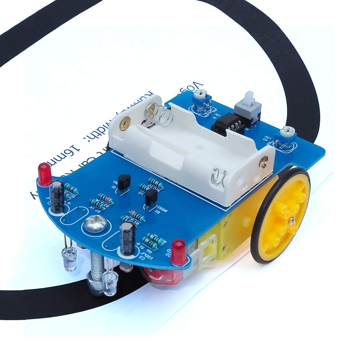 Lucky LED Spinner DIY Kit Unsoldered SMD Dice Soldering Practice Flux Workshop