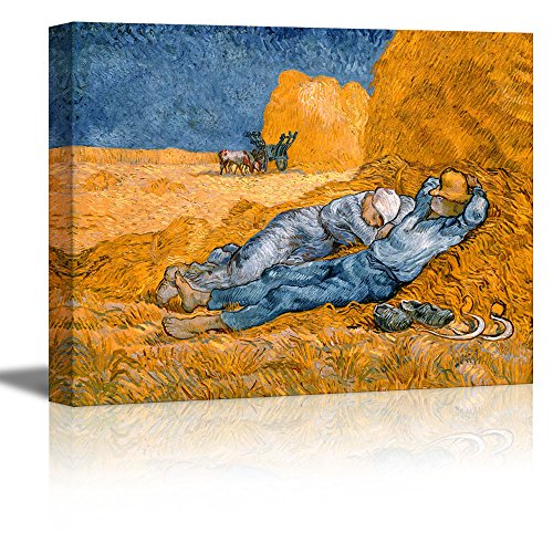 Noon: Rest from Work (After Millet) by Vincent Van Gogh Oil Painting Reproduction