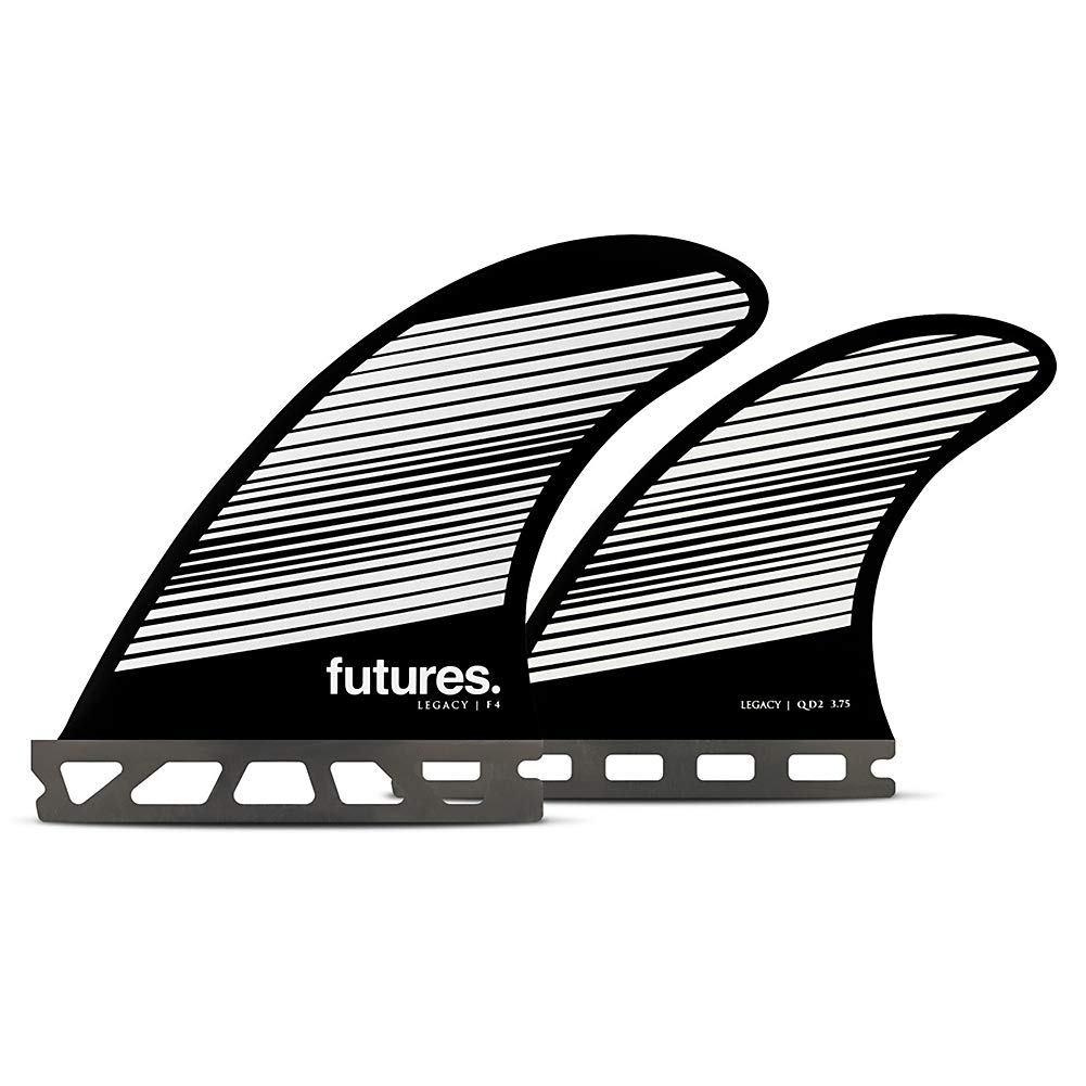 Futures F4 Legacy Quad Fin Set Gray//Black