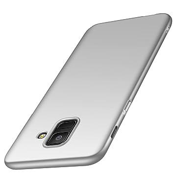 deconext Funda Samsung A6(2018), Carcasa Ultra Slim Anti-Rasguño y Resistente Huellas Dactilares Protectora Caso de Duro Cover Case para Samsung ...