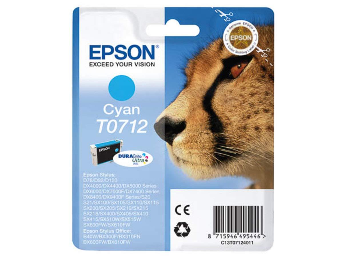 Epson Stylus DX 5050 (T0712 / C 13 T 07124011): Amazon.es: Electrónica