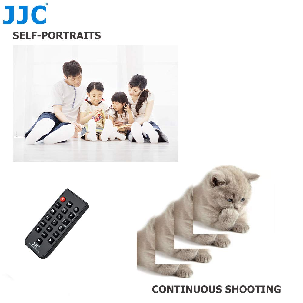 Replacement of Canon RC-6 IR Remote JJC Wireless Infrared IR Remote Control for Canon EOS Digital SLR and Compact Cameras