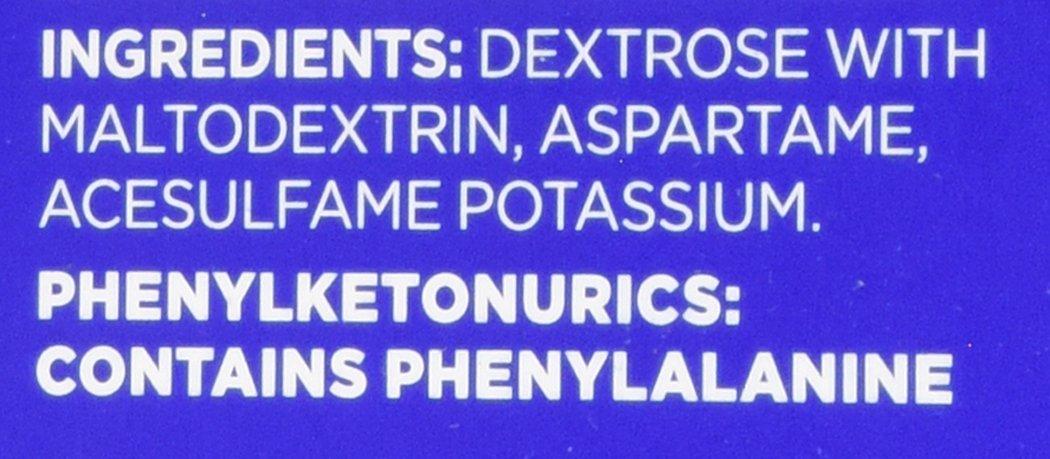 Equal Original Sweetener - ingredients