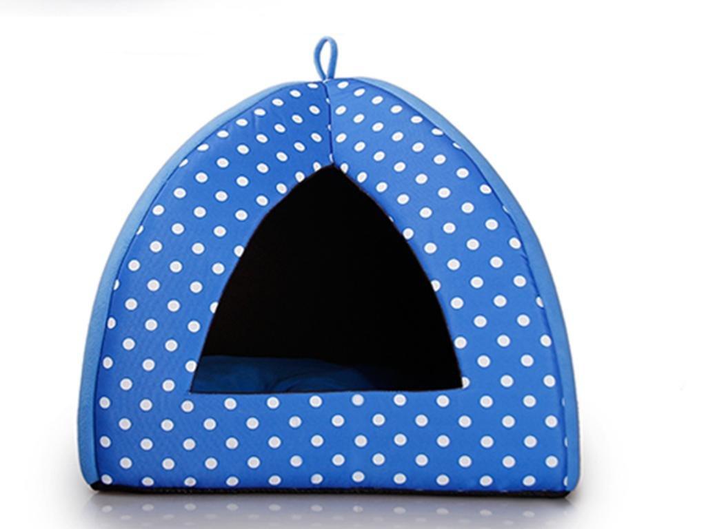 Dog House Pet Yurts Comfort Warmer Short Plush Dog House Cat