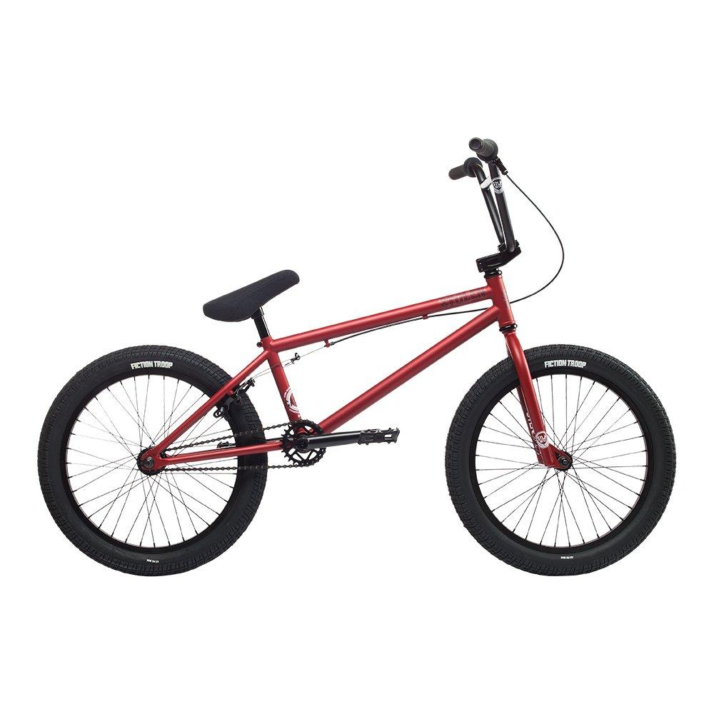 自転車 bmx STOLEN ストーレン CASINO XL FLAT RED 20インチ 完成車 完全組立 S065 B074K9JW65FLAT-RED 2018-CASINO-XL
