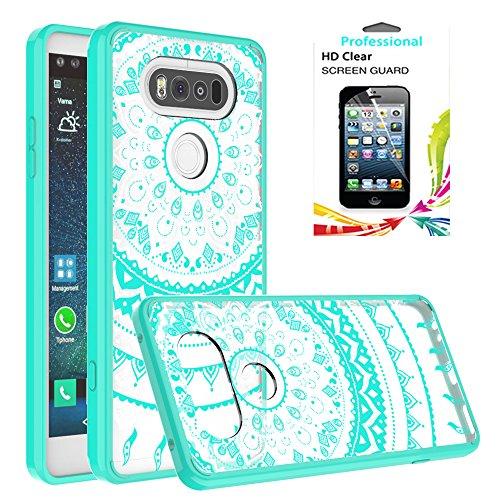 [해외]LG 전자 V20 클리어 케이스, AnoKe [스크래치 방지] 고무 TPU 범퍼 하이브리드 울트라 슬림 보호와 아크릴 하드 커버 LG 전자 V20/LG V20 Clear Case, AnoKe [Scratch Resis